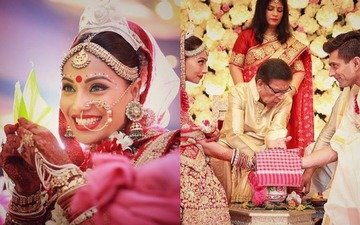 Don't miss these hot pics of Bipasha's Wedding