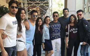 Dream Tour Of Sid, Alia, Varun, Kat, Adi & Parineeti Ends