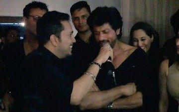 Watch: SRK singing to Mika Singh's Billo at Karim Morani's birthday bash