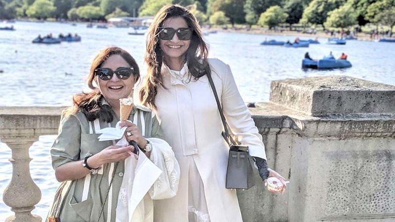 Sonam Kapoor's Mom-In-Law Priya Ahuja Pens A Warm Wish On Actor's Birthday; Shares Some Lovely Pics Of The Diva