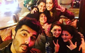 Shraddha and Arjun's Fun Night Out In Cape Town
