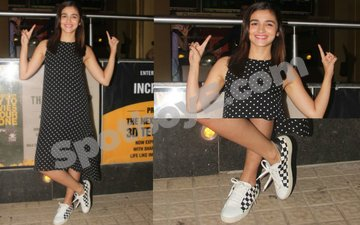 You'll fall in love with Alia's matchy-matchy style