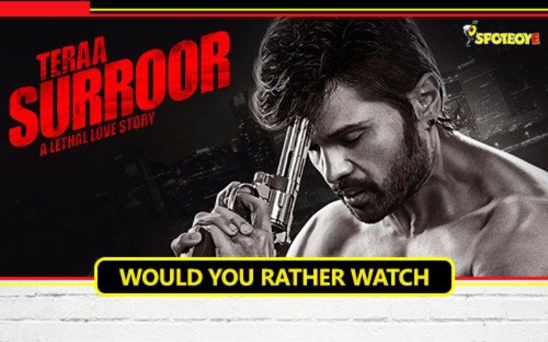 Watching Himesh Reshamiya's movie or watching a painted wall dry?