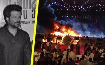 Anil Kapoor avoids glare of publicity at 'Make in India' blaze
