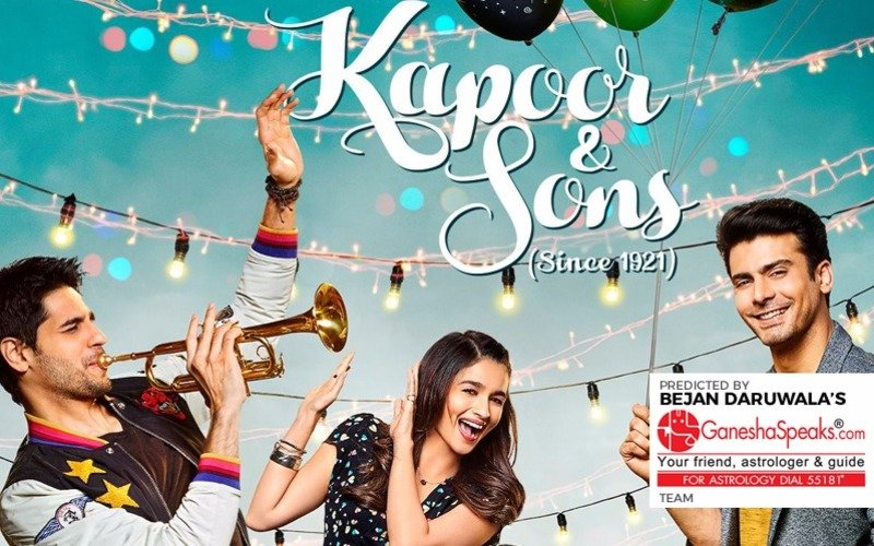 Ganesha Predicts: Kapoor & Sons will not live up to the hype