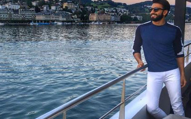 Guess where Ranveer Singh is holidaying