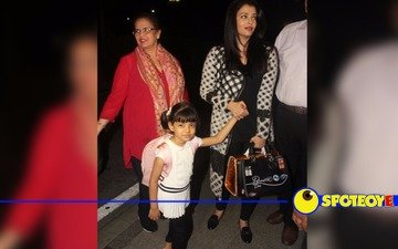 Aishwarya Rai leaves for Cannes with Aaradhya
