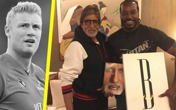 Hey Flintoff, this picture will tell you who is Amitabh Bachchan