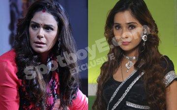 Mona Singh, Sara Khan Cry Hair Damage; Want Wigs for Kawach