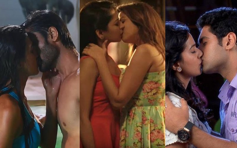 10 Steamy Kisses of Indian TV