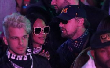 Leonardo DiCaprio-Rihanna spotted at Coachella