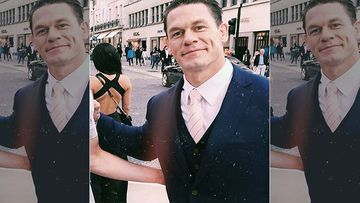John Cena Makes Heads Turn On Premiere Night Of Playing With Fire, Walks Hand In hand With GF Shay Shariatzadeh