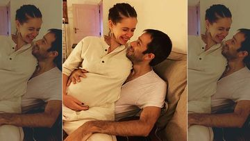 Picture Of Mommy-To-Be Kalki Koechlin Sitting On Her Partner Guy Hershberg's Lap Will Warm Your Hearts