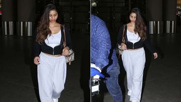 Shah Rukh Khan's Daughter Suhana Khan Takes A Break From College To Ring In New Year With Her Family