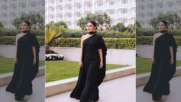 Kareena Kapoor Khan's Latest Fashion Outing Reminds Us Of Her Olive Green Sexy Gown From Her Pregnancy Days