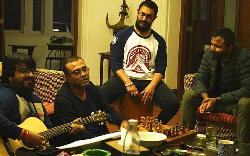 Aamir Khan Works On Laal Singh Chaddha's Music At His Panchgani Holiday Home