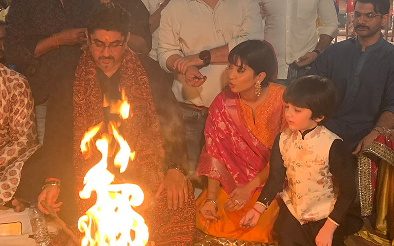 Yeh Rishta Kya Kehlata Hai Cast And Crew Celebrate New Beginnings With Puja And Hawan