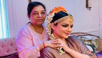 Kangana Ranaut Celebrates Her Hairdresser Maria Sharma Completing 5 Decades In Bollywood