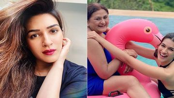 Kriti Sanon Wishes Her Mother On Her Birthday, Surprises Fans With Her Childhood Picture From Their Beach Getaway