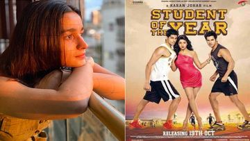 Alia Bhatt's Debut Film Student Of The Year Completes 8 Years, Actress Writes, '8 Yearsssss Can't Believe It'