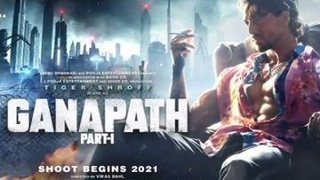 Ganapath First Look: Tiger Shroff Looks Extremely Hot And Fierce, Warns 'Dushmano Ka Baap Hu' In The Motion Poster Of The Action Thriller