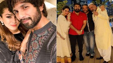 Diwali 2020: Shahid Kapoor And Mira Rajput Wish For Love And Light, While Sanjay Dutt And Maanayata Celebrate Diwali With Mohanlal In Dubai