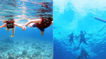 Kajal Aggarwal And Hubby Gautam Kitchlu Go Snorkeling, Pictures Of The Newlyweds Exploring The Blue Waters In Maldives Are Mesmerizing