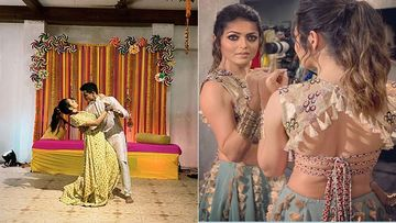 Drashti Dhami Grooves To Odhani With Hubby Neeraj Khemka; Her Bestie Sanaya Irani Can't Stop Cheering -WATCH
