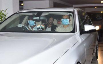 Shah Rukh Khan, Gauri Khan Visit Karan Johar's Home To Celebrate Hiroo Johar's Birthday - PICS
