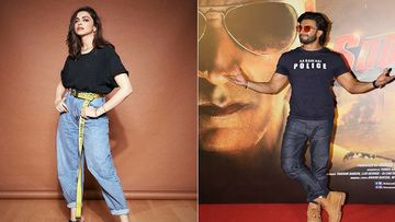 Deepika Padukone Pulls Up Hubby Ranveer Singh For Reaching Late At The Trailer Launch Of Sooryavanshi