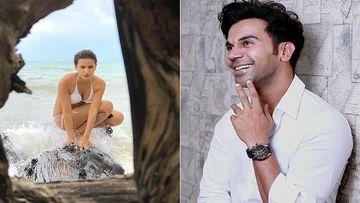 Patralekhaa Looks Damn Sexy In A White Thong Style Bikini; Has BF Rajkummar 'Feeling so HOT'