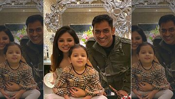 MS Dhoni And Sakshi Singh's Daughter Ziva Singh Dhoni Is Mighty Busy; Mommy Shares A Cute Video While In Quarantine