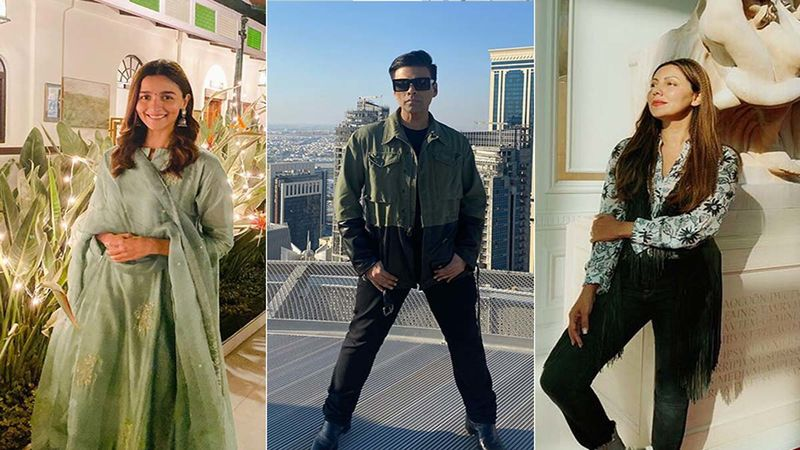 Mother's Day 2020: Alia Bhatt, Karan Johar Share Adorable Posts; Gauri Khan Shares Beautiful Snaps With Her Babies Suhana, Aryan And AbRam