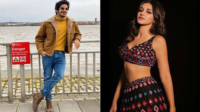 Not Janhvi Kapoor, Ishaan Khatter Has Khaali Peeli Co-Star Ananya Panday's Picture On His Photo Wall - What's Brewing?
