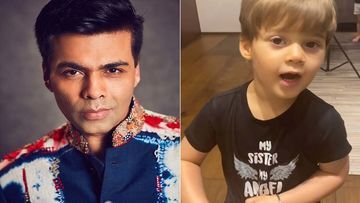 Karan Johar's Son Yash  Suggests A Unique Way To Cut Hair, Filmmaker WARNS: 'Do Not Try This At Home'- VIDEO