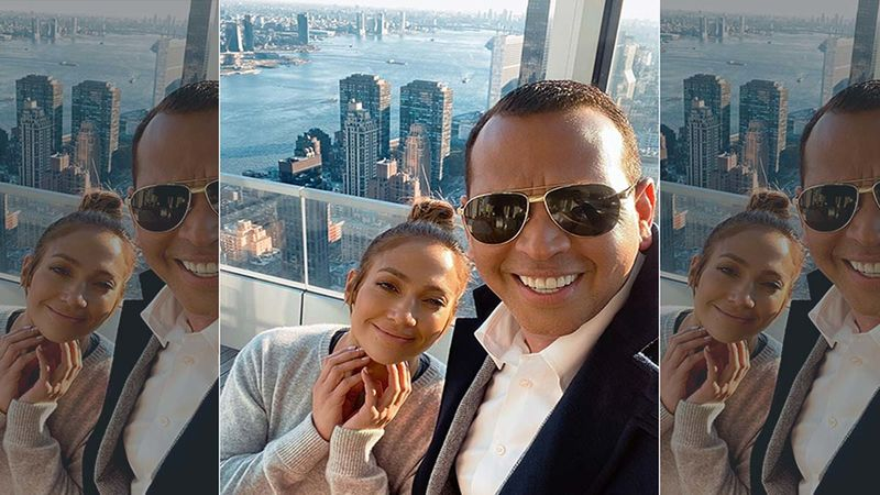 Jennifer Lopez's Fiancé Alex Rodriguez Captures Singer Dancing In The Rain And Then Finally Jumping Into The Pool