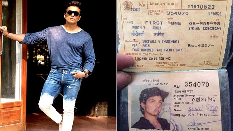 Sonu Sood Gets Nostalgic As His Old Train Pass Surfaces On The Internet, Says, 'Life Is A Full Circle'