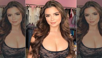 Demi Rose Gets Butt-Smacked By Her Friend As She Gyrates In Bed To Her Favourite Song