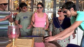 Hina Khan Made Her Family Rehearse To Celebrate Her 8 Million Instagram Followers; The Result Is Hilarious-WATCH VIDEO