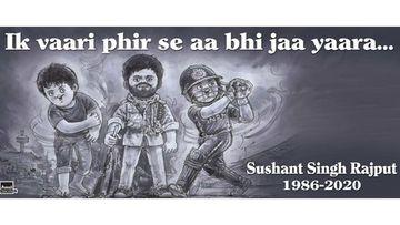 Sushant Singh Rajput Death: Amul Pays Homage To Sushant Singh Rajput; Captions It 'Ik Vaari Phir Se Aa Bhi Jaa Yaara'