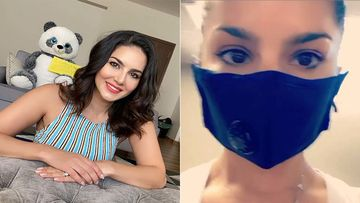Sunny Leone Is One Happy Soul As She Hits The Gym After Three Months Wearing A Mask- Video