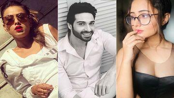 Naagin 4: Nia Sharma-Rashami Desai Papped On Set As They Remain Glued To Their Phone; Vijayendra Kumeria Calls Them Phone Lovers