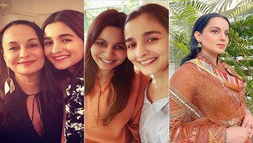 Did Alia Bhatt's Mother Soni Razdan, Sister Shaheen Call Kangana Ranaut's Interview A Distraction From Sushant Singh Rajput's Case?