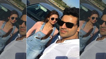 Divyanka Tripathi And Vivek Dahiya Celebrate 4th Wedding Anniversary; Lady Doodles A Lovely Pic,Vivek Lets The Champagne Flow - Pics