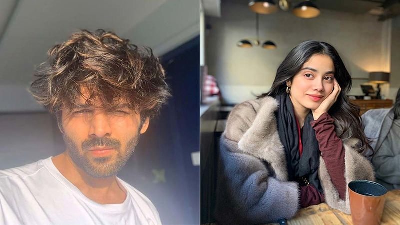 Kartik Aaryan Gets Trolled By His Dostana 2 Co-Star Janhvi Kapoor For His 'Contagious' Post