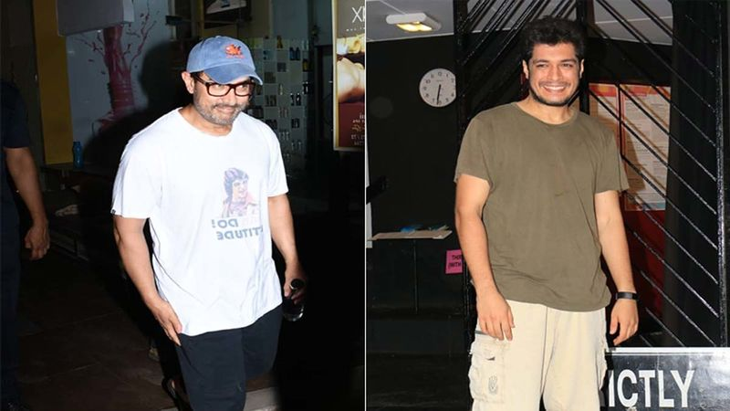 Aamir Khan's Gets Papped In Town With His Kids; Did You Notice His Son Junaid Khan's Lean And Slim Transformation? -VIDEO