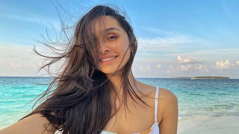 Shraddha Kapoor Holidays In The Maldives With Her Parents, Drops A Cheerful Beach Selfie