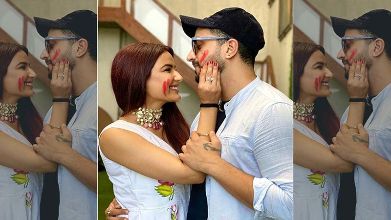 Happy Holi 2021: Lovebirds Aly Goni And Jasmin Bhasin Celebrate The Festival Of Colours By Grooving To Their Song Tera Suit