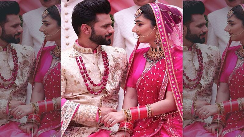 Madhanya Song OUT: Lovebirds Rahul Vaidya And Disha Parmar's Reel Life Wedding Is Dreamy And Filled With Love- WATCH