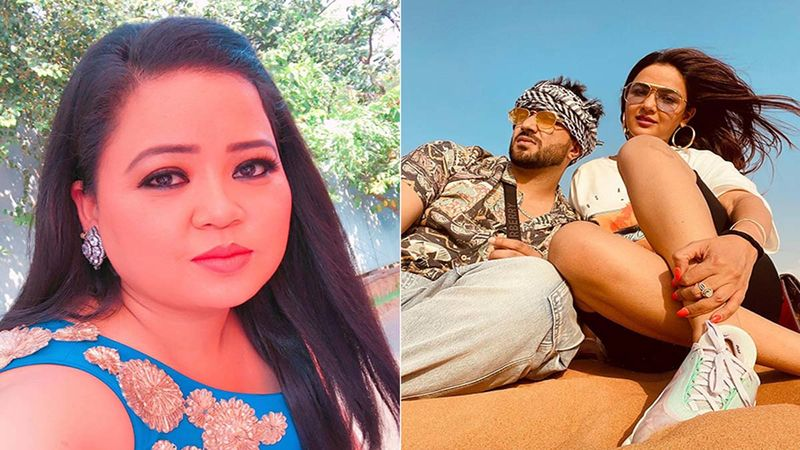 Bharti Singh Mimics Aly Goni And Jasmin Bhasin In A Throwback Video From Khatron Ke Khiladi; Suggests Jasmin Cried Before Every Stunt